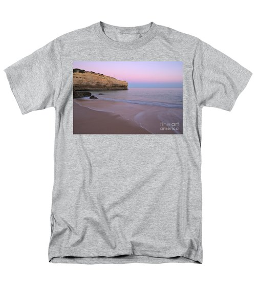 Dusk In Albandeira Beach Men's T-Shirt  (Regular Fit) by Angelo DeVal