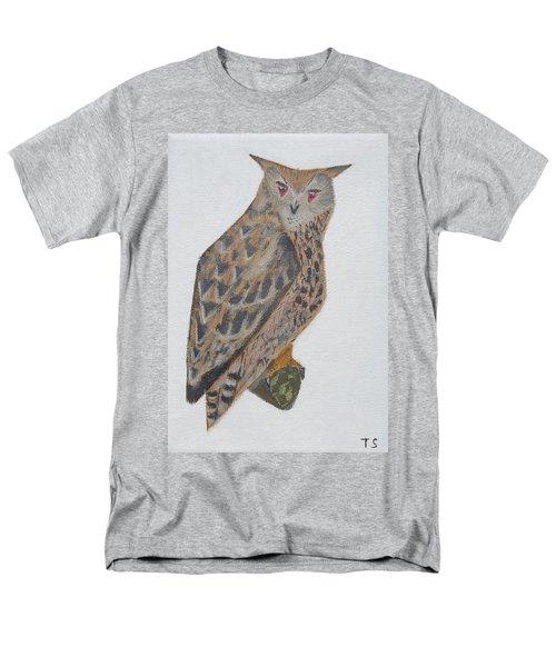 Eagle Owl Men's T-Shirt  (Regular Fit) by Tamara Savchenko