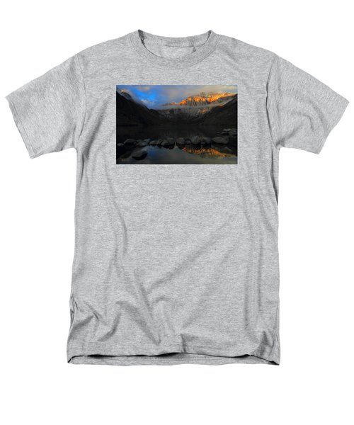 Early Morning Light At Convict Lake In The Eastern Sierras Men's T-Shirt  (Regular Fit) by Jetson Nguyen