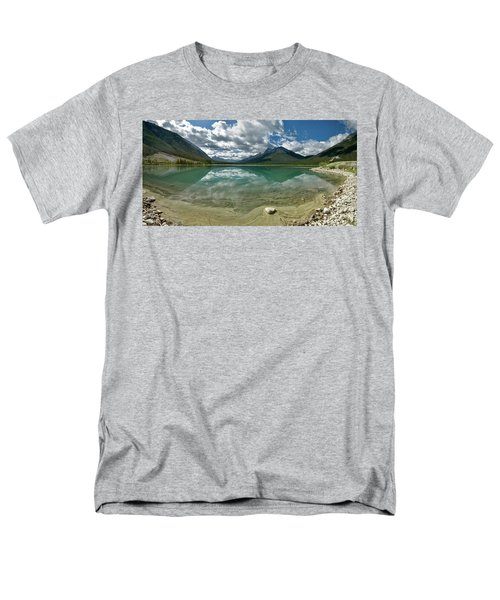 Men's T-Shirt  (Regular Fit) featuring the photograph Early Summer Day On Goat Pond by Sebastien Coursol
