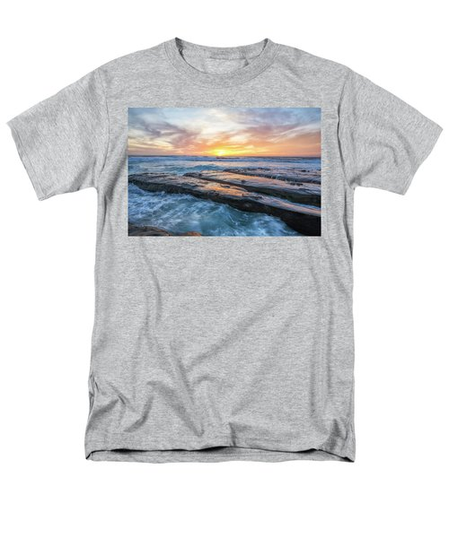 Earth, Sea, Sky Men's T-Shirt  (Regular Fit)