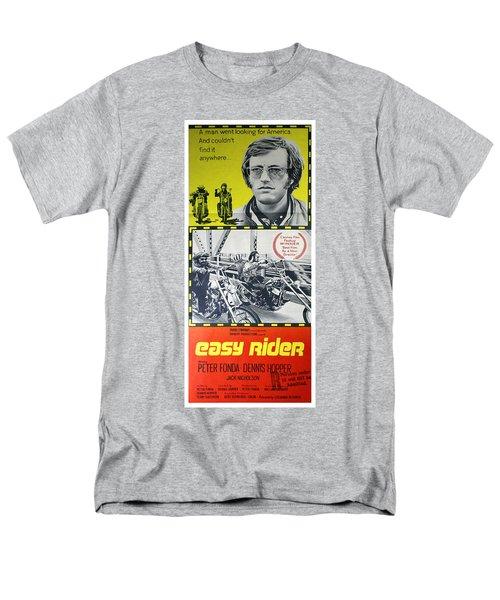 Easy Rider Movie Lobby Poster  1969 Men's T-Shirt  (Regular Fit)