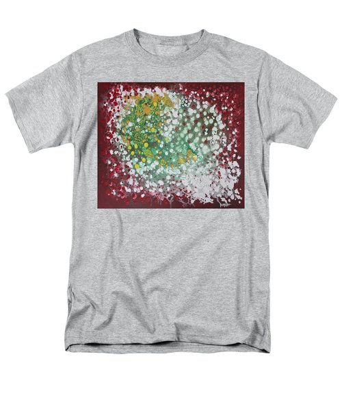 Men's T-Shirt  (Regular Fit) featuring the painting Ebola Contained by Antonio Romero