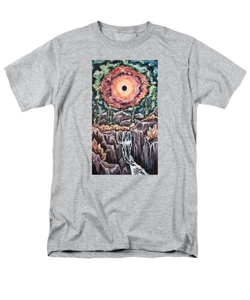 Eclipse- When The Sun Goes Dark Men's T-Shirt  (Regular Fit) by Cheryl Pettigrew