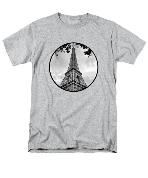 Eiffel Tower - Transparent Men's T-Shirt  (Regular Fit) by Nikolyn McDonald