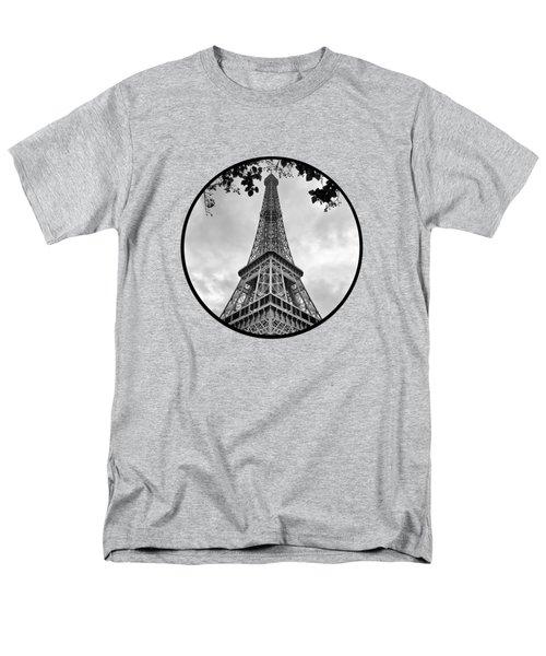 Eiffel Tower - Transparent Men's T-Shirt  (Regular Fit)