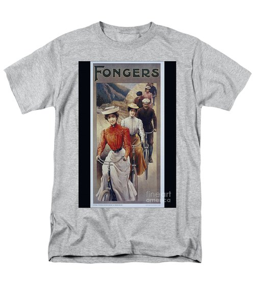 Elegant Fongers Vintage Stylish Cycle Poster Men's T-Shirt  (Regular Fit)