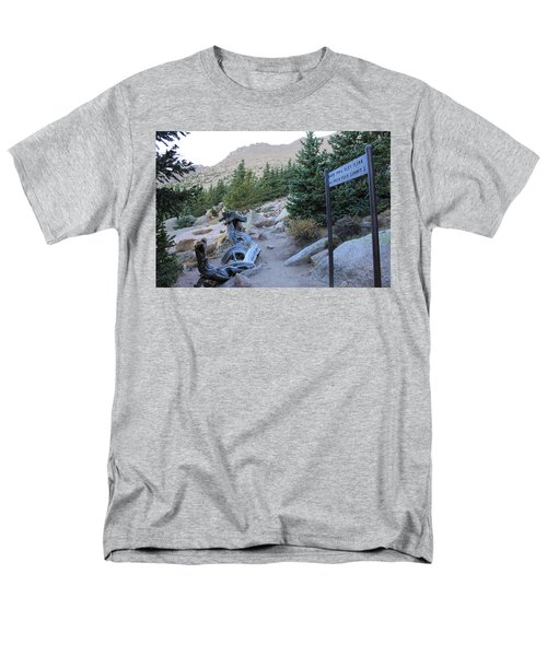 Elevation 11,500 Men's T-Shirt  (Regular Fit) by Christin Brodie