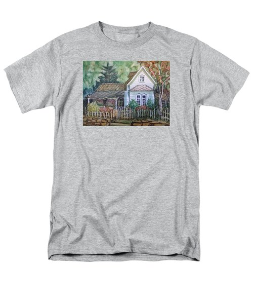 Men's T-Shirt  (Regular Fit) featuring the painting Elma's Home by Gretchen Allen