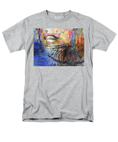 Enchanted Waters Men's T-Shirt  (Regular Fit) by P Anthony Visco