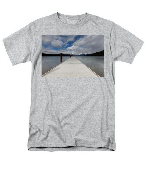 End Of The Dock Men's T-Shirt  (Regular Fit) by Fran Riley