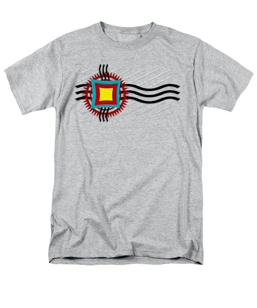 Men's T-Shirt  (Regular Fit) featuring the digital art Energy Flow by Shawna Rowe