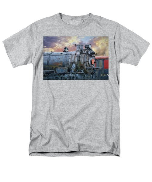 Men's T-Shirt  (Regular Fit) featuring the photograph Engine 3750 by Lori Deiter