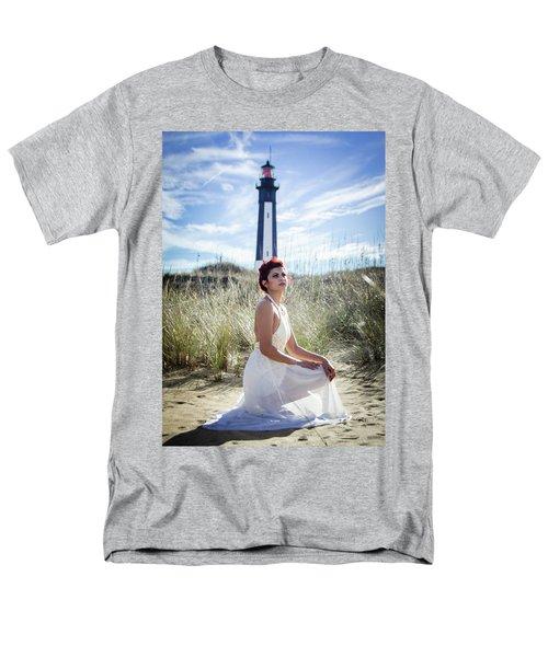 Ethereal Gaze Men's T-Shirt  (Regular Fit)