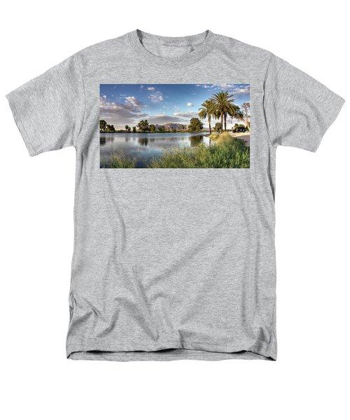 Evening Fishing Men's T-Shirt  (Regular Fit) by Lynn Geoffroy