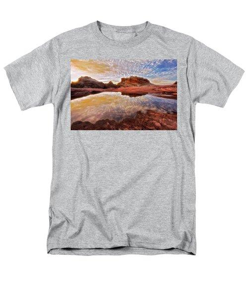 Evening Reflections  Men's T-Shirt  (Regular Fit) by Nicki Frates