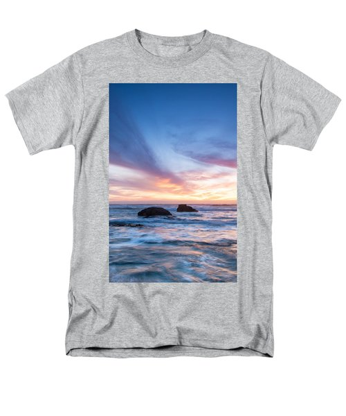 Evening Waves Men's T-Shirt  (Regular Fit) by Catherine Lau