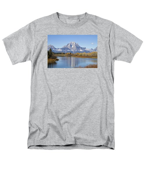 Men's T-Shirt  (Regular Fit) featuring the photograph Fall At Teton -1 by Shirley Mitchell