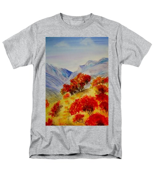 Men's T-Shirt  (Regular Fit) featuring the painting Fall Color by Jamie Frier