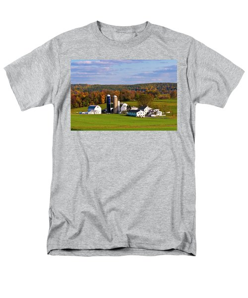 Fall In Amish Country Men's T-Shirt  (Regular Fit) by Lou Ford