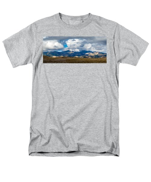 Fall Storm Clearing Off Pintada Mountain Men's T-Shirt  (Regular Fit) by John Brink
