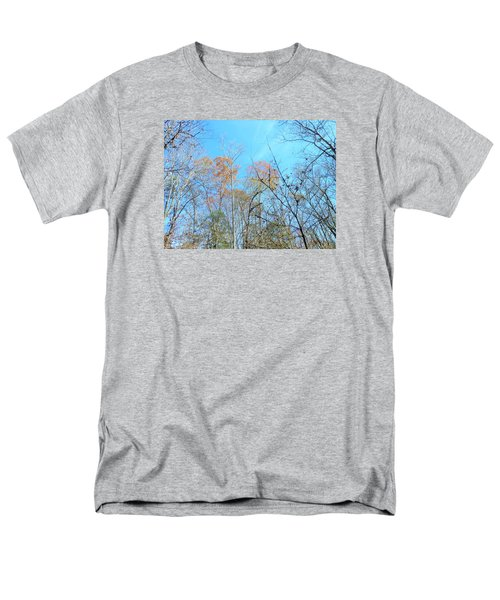 Men's T-Shirt  (Regular Fit) featuring the photograph Fall Trees by Kay Gilley