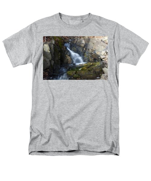 Men's T-Shirt  (Regular Fit) featuring the photograph Falling Waters In February #2 by Jeff Severson
