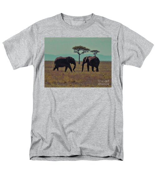 Men's T-Shirt  (Regular Fit) featuring the photograph Family by Karen Lewis