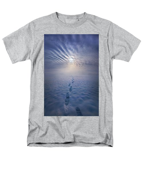 Men's T-Shirt  (Regular Fit) featuring the photograph Far And Away by Phil Koch