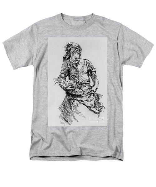 Farm Girl Men's T-Shirt  (Regular Fit)