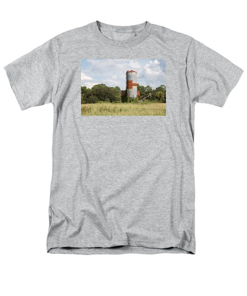 Farm Life - Retired Silo Men's T-Shirt  (Regular Fit) by Christopher L Thomley