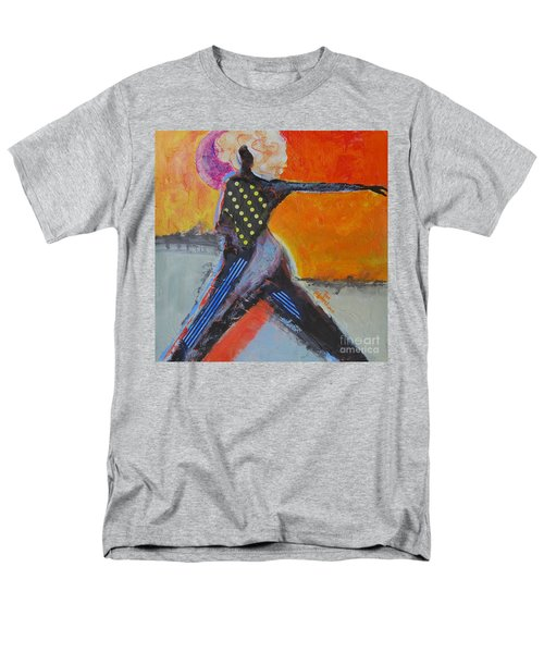 Men's T-Shirt  (Regular Fit) featuring the painting Fashionista by Ron Stephens