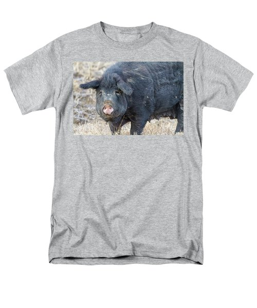 Men's T-Shirt  (Regular Fit) featuring the photograph Female Hog by James BO Insogna