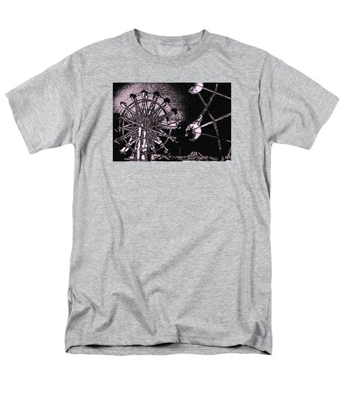 Men's T-Shirt  (Regular Fit) featuring the photograph Ferris Wheel by Donna G Smith