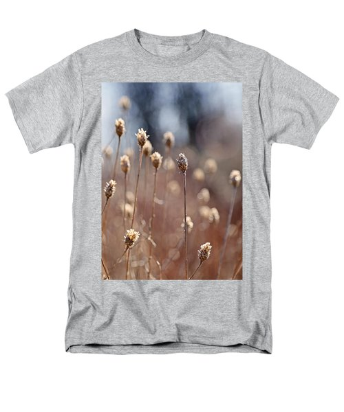 Field Of Dried Flowers In Earth Tones Men's T-Shirt  (Regular Fit) by Brooke T Ryan