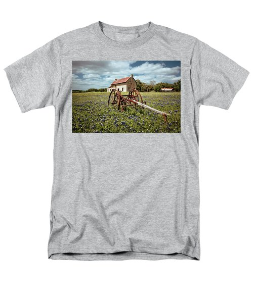 Men's T-Shirt  (Regular Fit) featuring the photograph Final Resting Place by Linda Unger