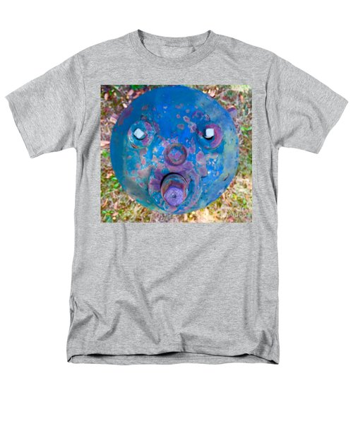 Fire Hydrant # 11 Men's T-Shirt  (Regular Fit) by Suzanne Lorenz