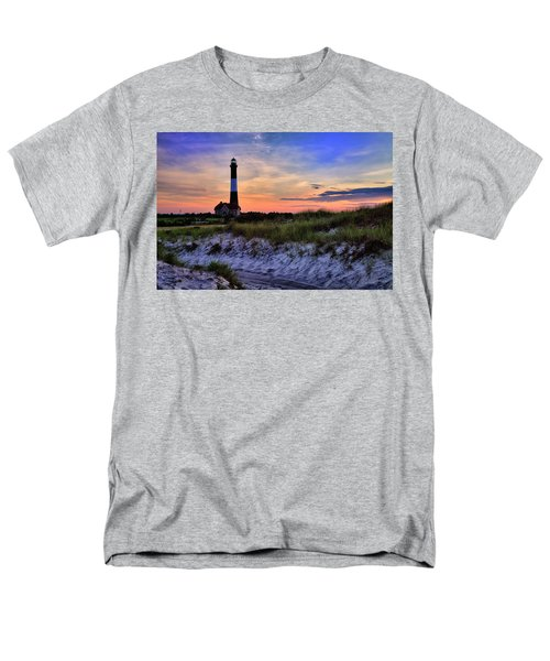 Fire Island Lighthouse Men's T-Shirt  (Regular Fit)