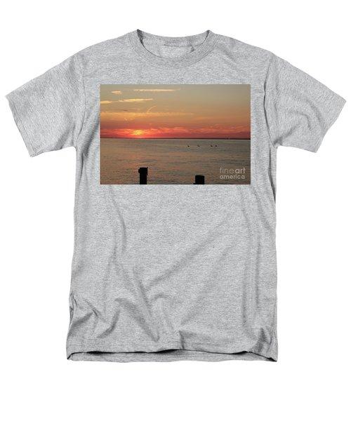 Fire Island Sunset Men's T-Shirt  (Regular Fit)