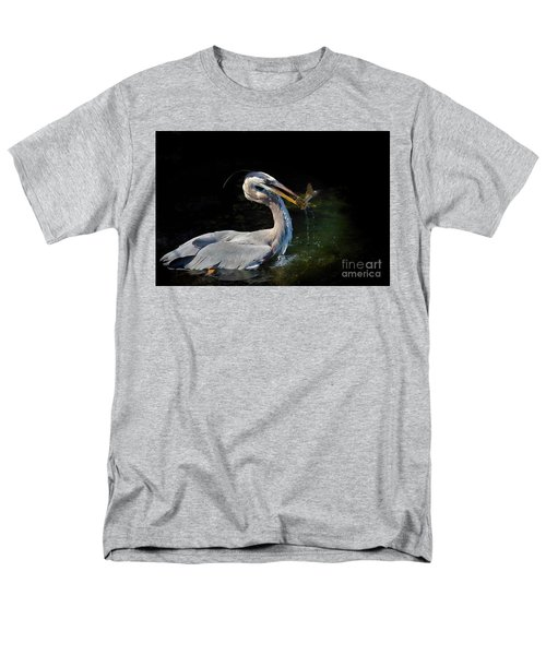 First Catch Of The Day Men's T-Shirt  (Regular Fit) by Pamela Blizzard