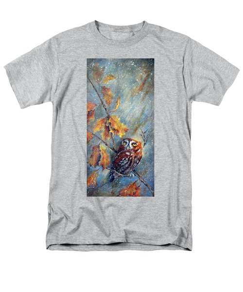 First Flurries Men's T-Shirt  (Regular Fit) by Mary McCullah