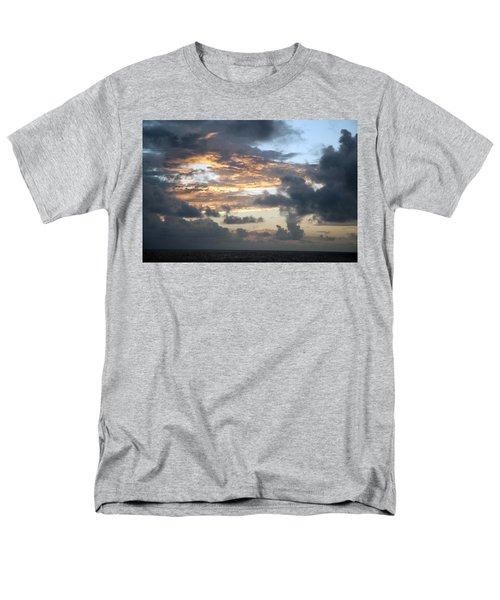Men's T-Shirt  (Regular Fit) featuring the photograph First Sunrise  by Allen Carroll