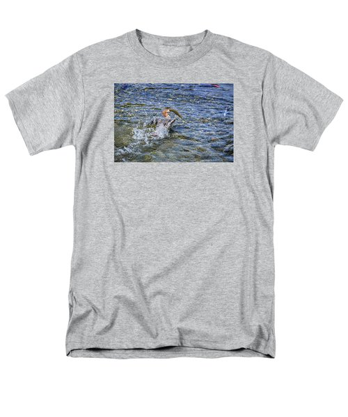 Men's T-Shirt  (Regular Fit) featuring the photograph Fish Gulp by David Lawson