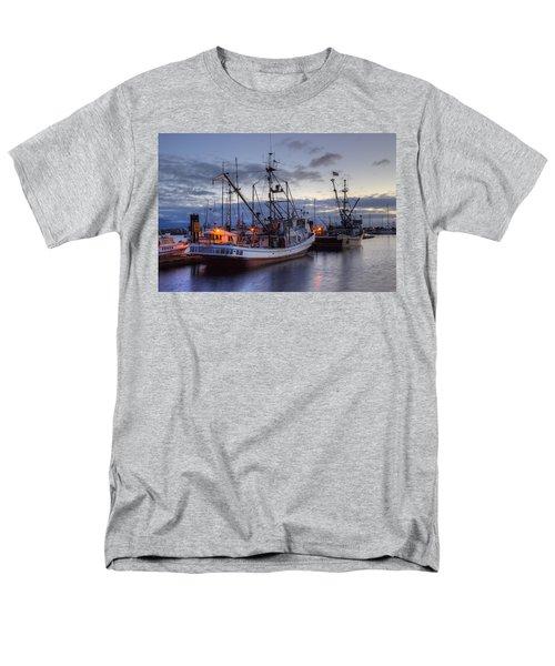 Fishing Fleet Men's T-Shirt  (Regular Fit) by Randy Hall