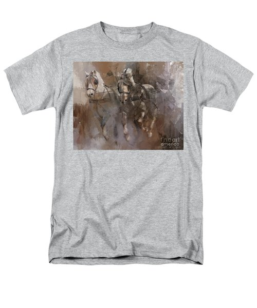 Fjords On The Run Men's T-Shirt  (Regular Fit) by Kathy Russell