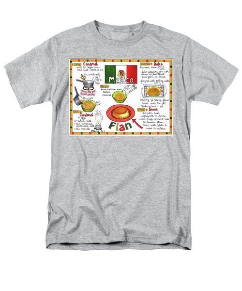 Flan Men's T-Shirt  (Regular Fit)