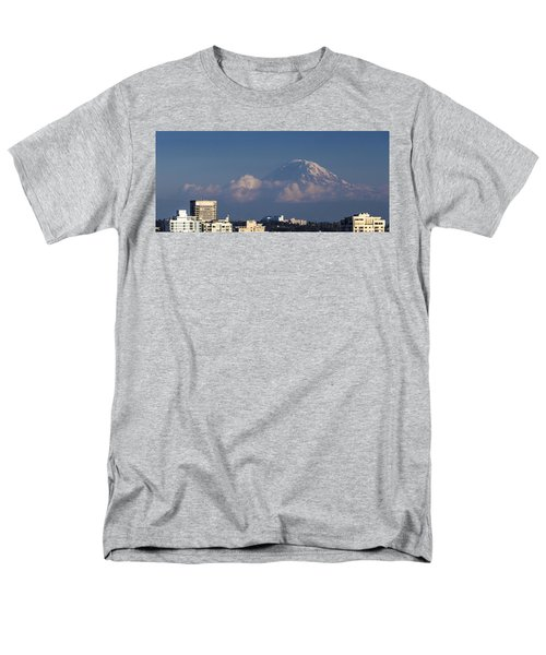 Floating Mountain Men's T-Shirt  (Regular Fit) by Ed Clark