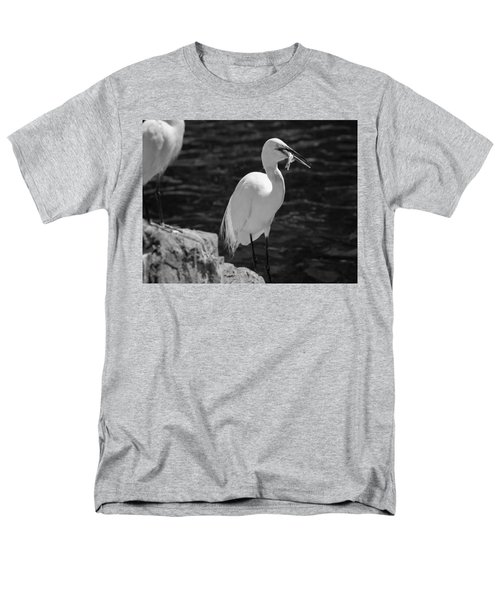 Florida White Egret Men's T-Shirt  (Regular Fit) by Jason Moynihan