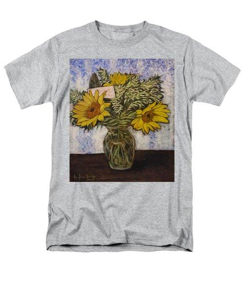 Flowers For Janice Men's T-Shirt  (Regular Fit) by Ron Richard Baviello