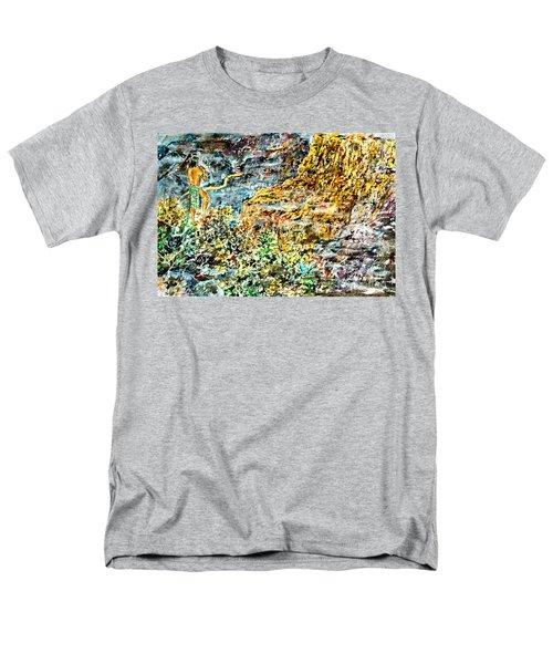 Flutes Breath Men's T-Shirt  (Regular Fit)